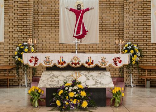 Altar in St Mary's Church