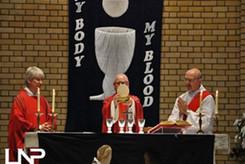 Fr John, Fr Colin and Deacon Nick