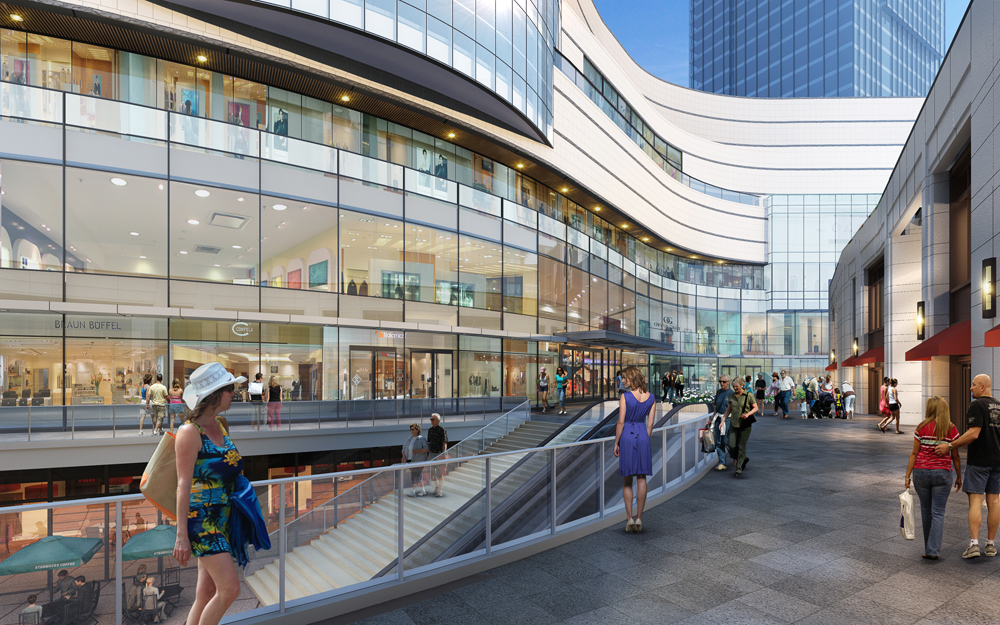 shopping centre s