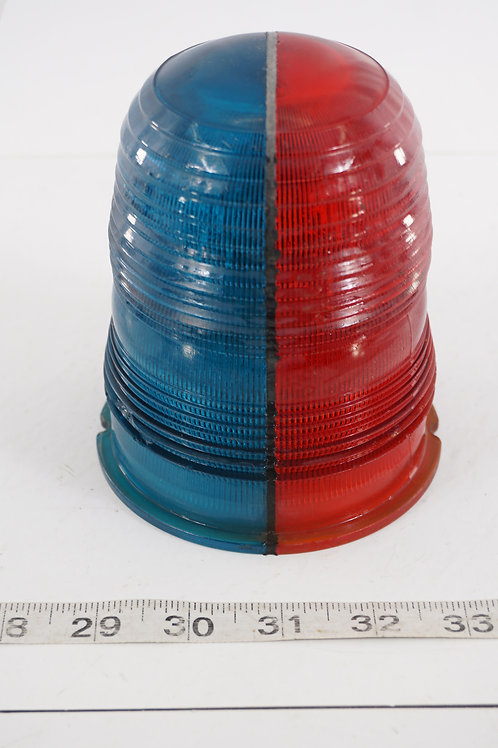 Airfield Runway Light Shade - Blue And Red