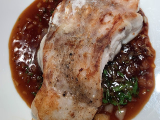 Grouper with Ginger Sauce