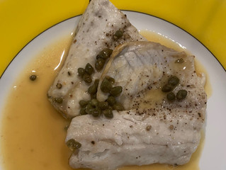 The Easiest Way to Cook Fish? Rockfish with Lemon, Wine, Caper, and Butter Sauce