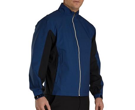 Men's FJ HydroLite Jacket - Royal/Black Houndstooth