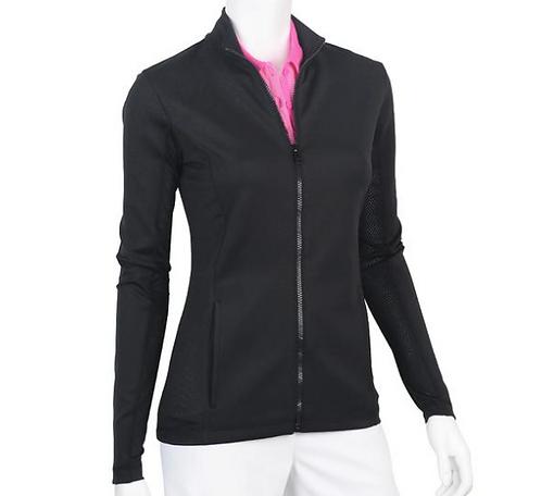 Pro Brushed Jersey Jacket - Black