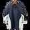 Thumbnail: Men's FJ HydroLite SS Rain Jacket - Black-Royal/Plaid-White