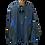 Thumbnail: Men's FJ HydroLite Jacket - Black/Royal Plaid
