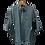 Thumbnail: Men's FJ HydroLite SS Rain Jacket - Charcoal-Black/Houndstooth
