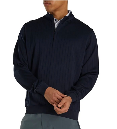 FootJoy Drop Needle Sweater -NAVY