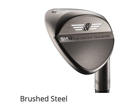 Titleist Vokey SM8 Wedges - BRUSHED STEEL