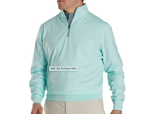 FJ Performance Half Zip - Mint