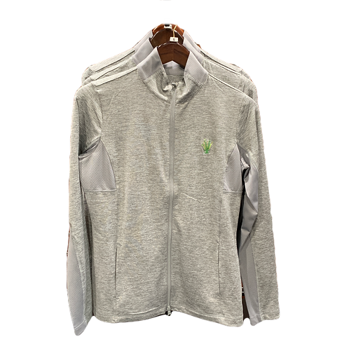 Pro Brushed Jersey Jacket - Silver Cloud