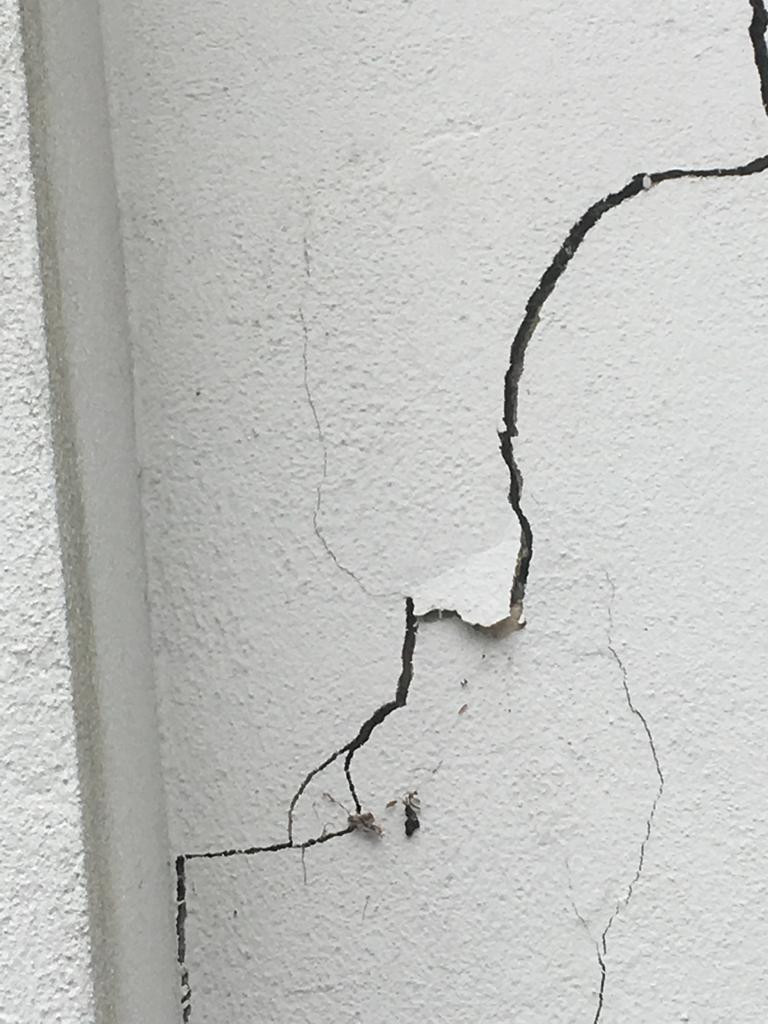 Crack in wall - Structural Survey