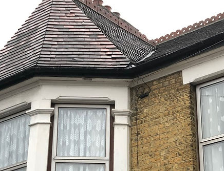 building survey - roof leak