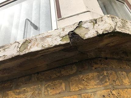 stone cill defect building survey