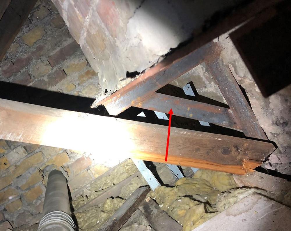 Gallows Bracket Chimney Removed