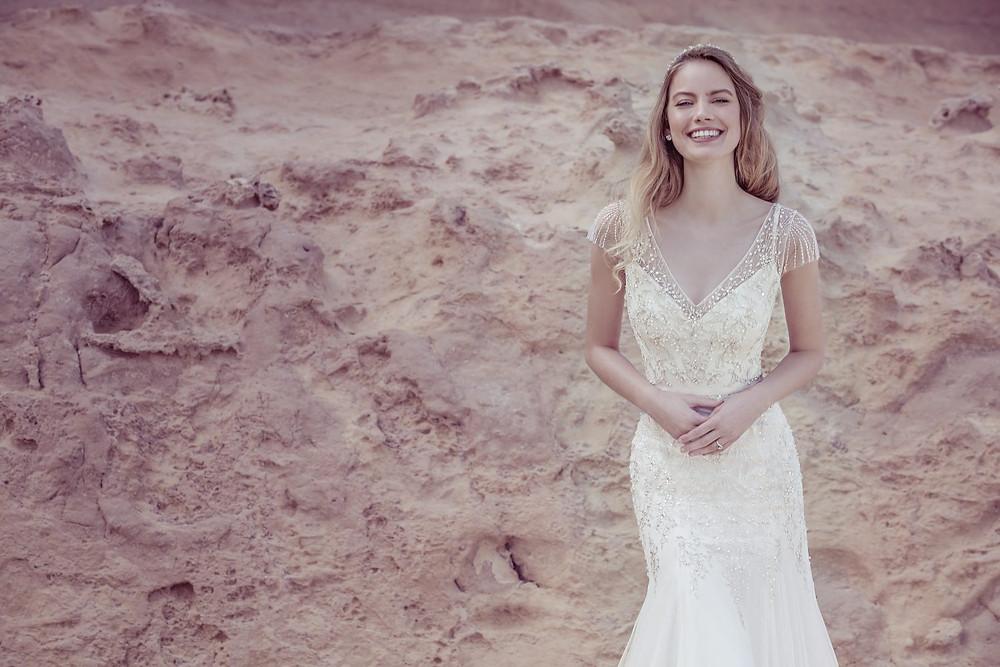 Ellis Bridals Wedding Dress 18036
