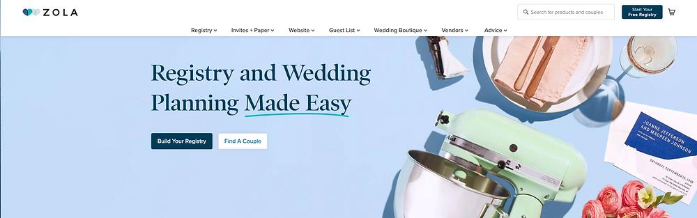 zola-wedding-registry-app