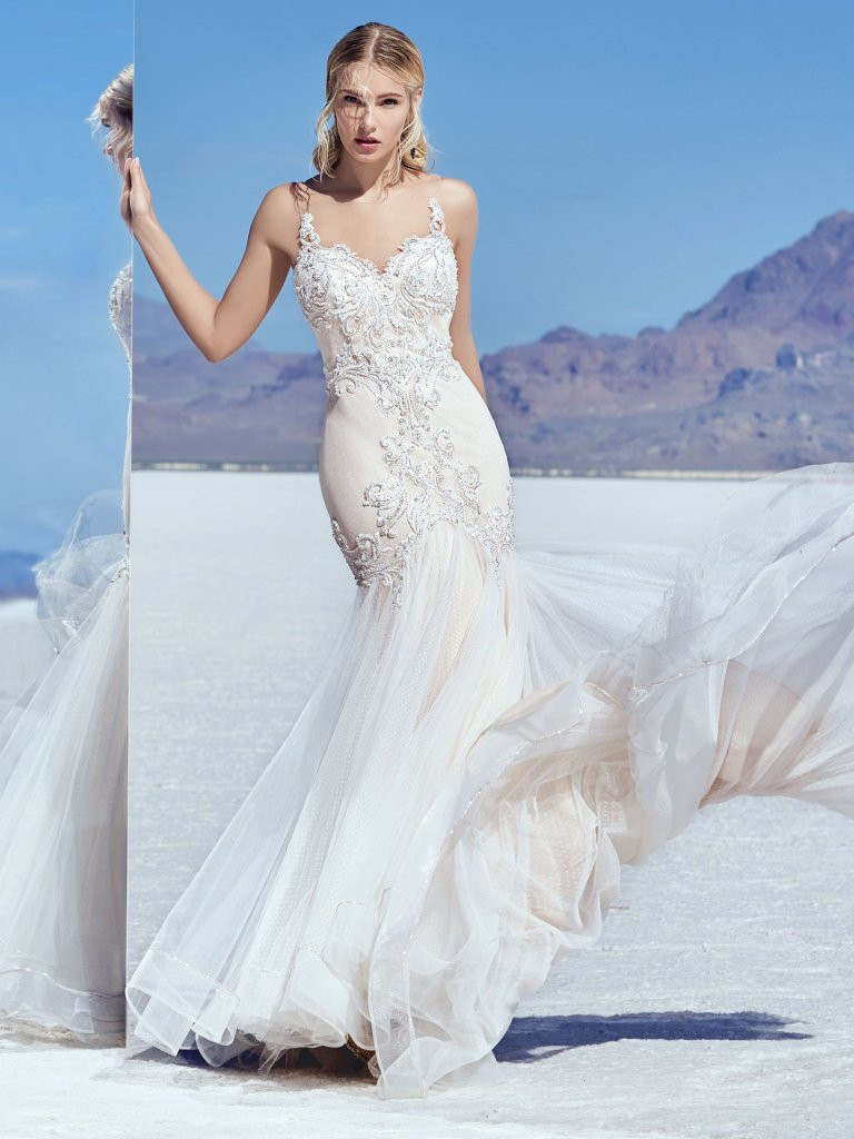 wedding dress for petite bride