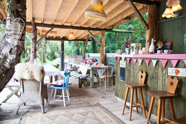 glamping hen party ideas