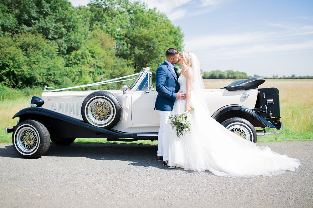 wedding cars in bedfordshire