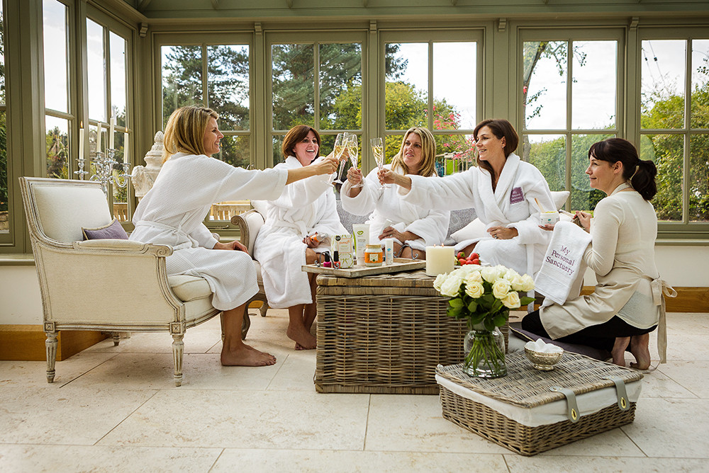 spa day hen party ideas