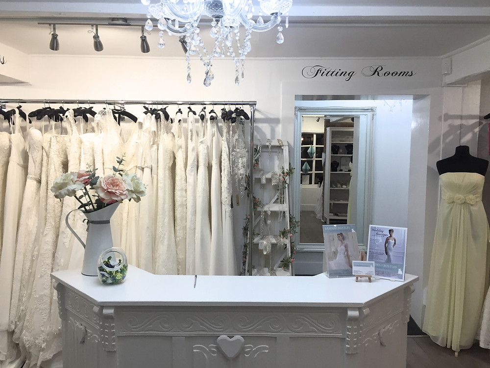 brides and bustles wedding shop in bedfordshire