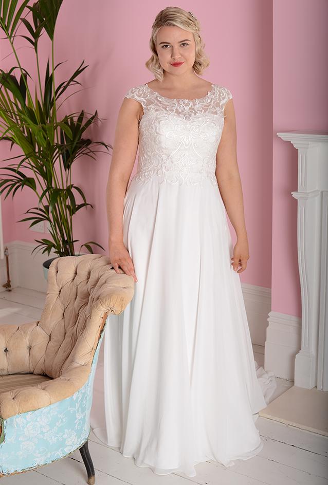 WP403   White Rose Bridal