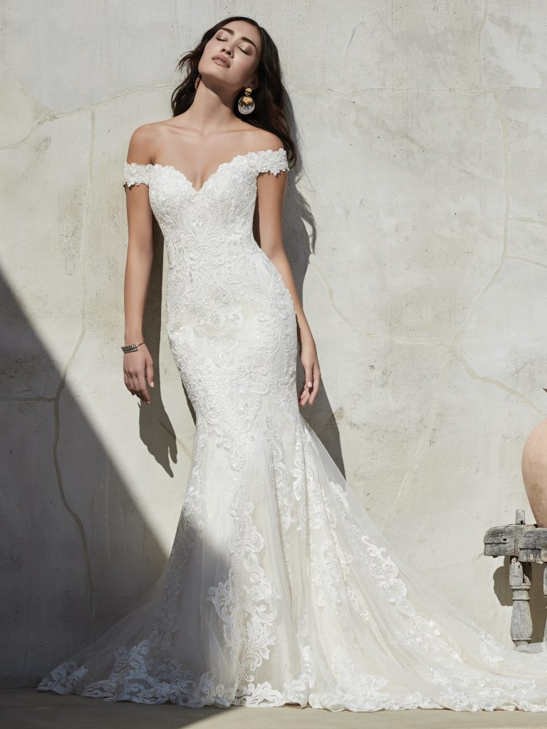 shop local for your wedding dress Sottero and Midgley