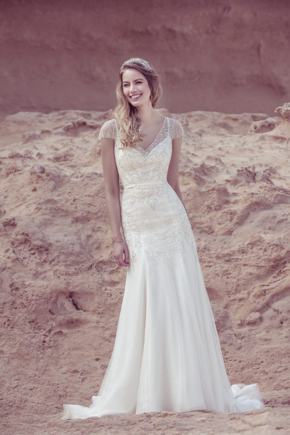 Ellis Bridals wedding dress 18036