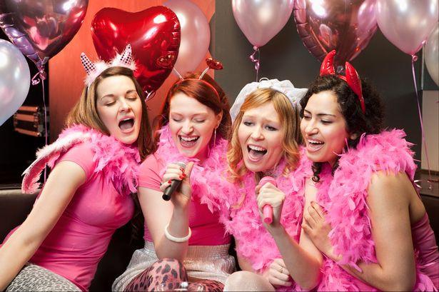 karaoke hen party ideas