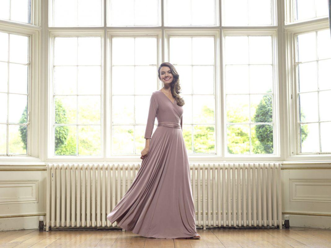 Multiway bridesmaids dress