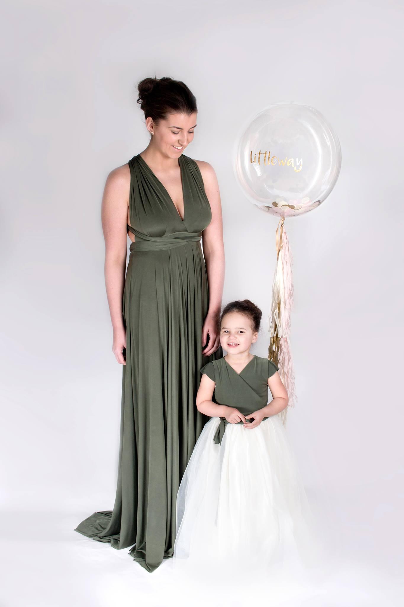 junior and flower girl dresses