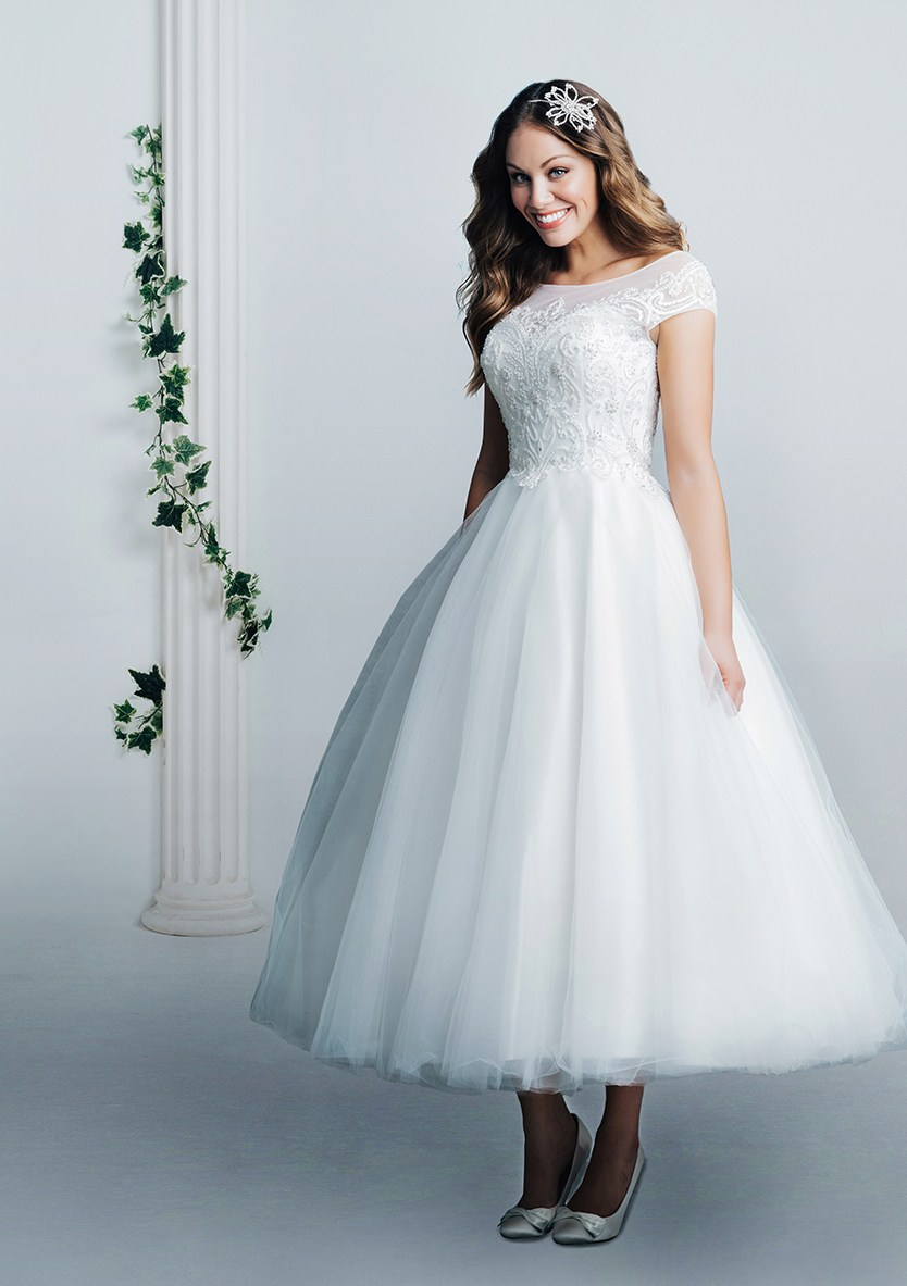 White Rose Bridal R971 (Full Length)