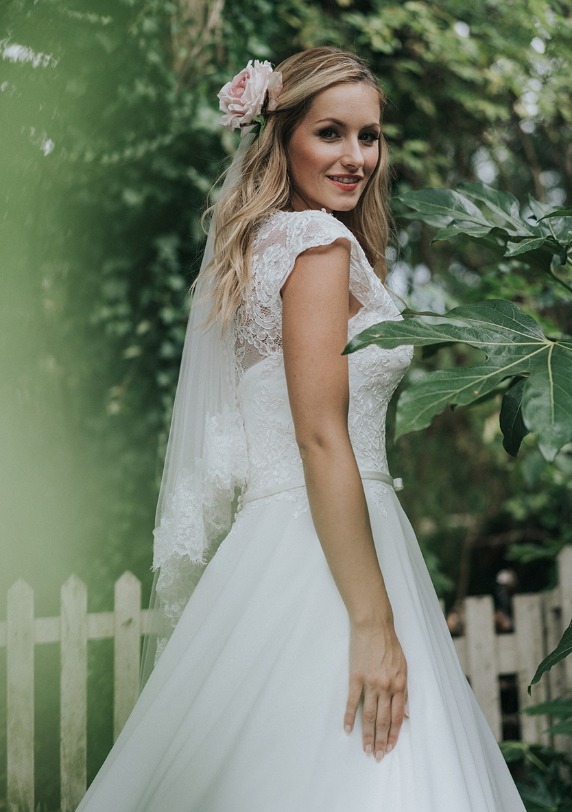 autumn wedding dress