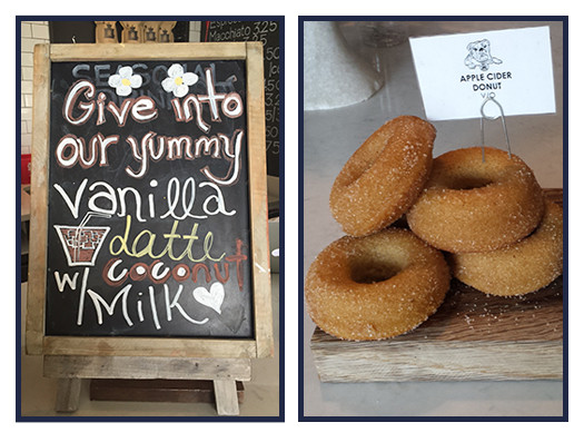 Try It Tuesday: Iced Vanilla Latte + Vegan Organic Donuts