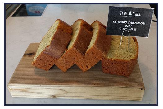Try It Tuesday: Orange Vanilla Iced Cappuccino + Gluten-Free Pistachio Cardamom Loaf