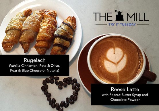Try It Tuesday: Reese Latte + Rugelach