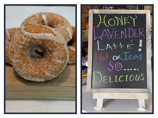 Try It Tuesday: Pumpkin Maple Spice Donut + Lavender Honey Latte