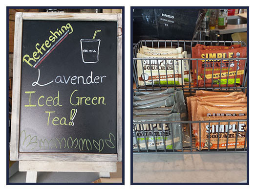 Try It Tuesday: Lavender Iced Green Tea + Simple Squares