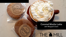 Try It Tuesday: The Good Batch Cookies + Caramel Mocha Latte with Whipped Cream