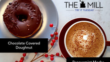 Try It Tuesday: Peppermint Mocha + Chocolate Covered Doughnut
