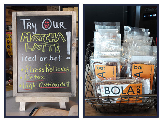Try It Tuesday: Matcha Latte + BOLA Bar