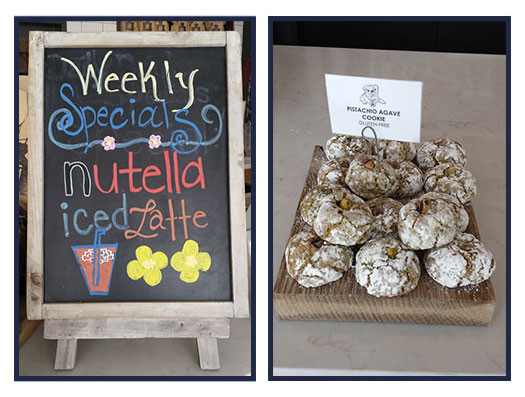 Try It Tuesday: Nutella Iced Latte +  Pistachio Agave Cookies