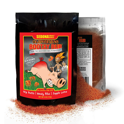 Blistering Bootay Habanero Pork Rub 4.0 oz