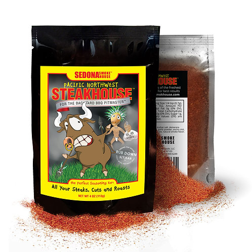 Pacific Northwest Steakhouse Beef Rub 4.0 oz