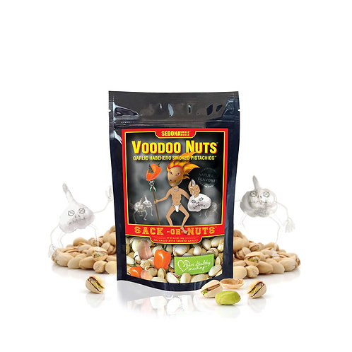 Voodoo Nuts - Habanero Garlic Sack-Oh-Nuts 6.5oz