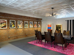 Mezzanine Gallery / Conference Room featuring Foundation favorite artists and friends The Connor Brothers