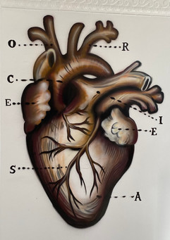 HEART by Jules Muck, in honor of 8 year old Secoriea Turner who was tragically shot in the heart and killed on July 4th, 2020