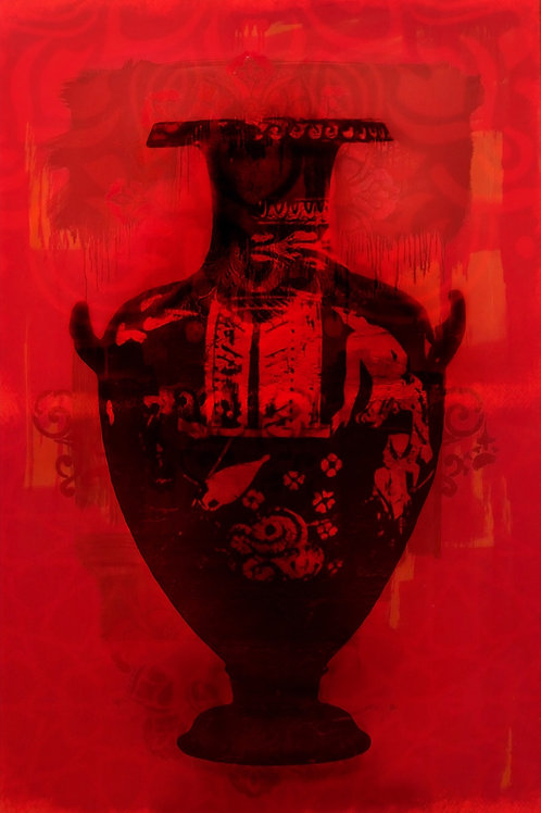"Vessel Quinacridone Red 16""X 24"""