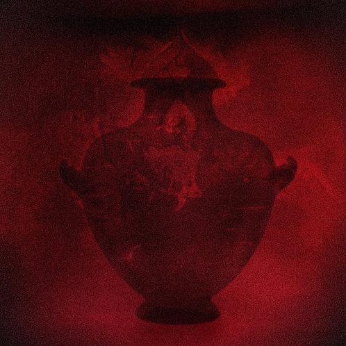 "Vessel Dark Red 30""x 30"""